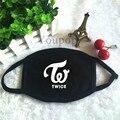 Youpop KPOP TWICE Album Logo Dust Cotton Mouth-muffle Face Mask Maschere Antipolvere Masques KZ151