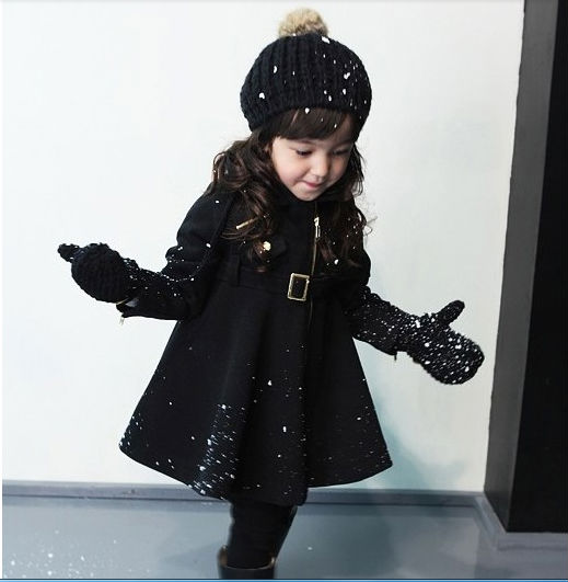 2014 autumn and winter children's clothing section of small girls ...