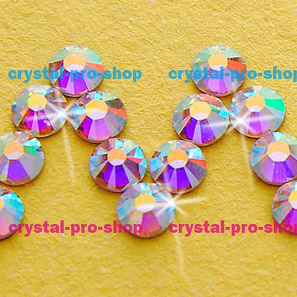 ss3 GENUINE Swarovski Elements AB Crystal (001AB) 720 pieces Hotfix Iron on  Flatback Rhinestones Craft Beads-in Rhinestones from Home   Garden on ... 9c032d979676