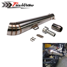 48.8MM Modified motorcycle exhaust pipe stainless steel fried tube exhaust pipe than 150cc less 1000cc is ok dual exhaust
