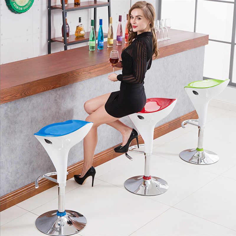 Подъемный вращающийся барный стул шезлонг барный стул современный промышленный барный стул для интима высококачественный креативный косметический табурет