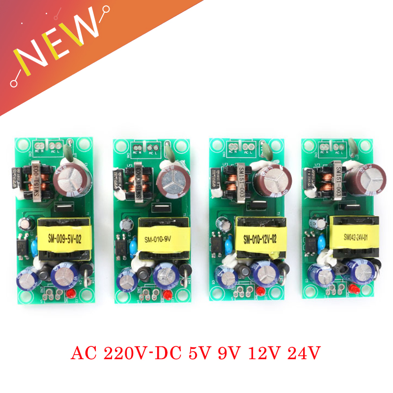 AC-DC Isolated Switch Power Supply Module Converter 220V To 5V 9V 12V 15V 24V switching power supply Power supply module image