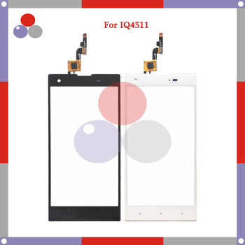 10pcs/lot 5.0'' For Fly IQ4511 Touch Screen Panel Sensor Digitizer Outer Glass Lens