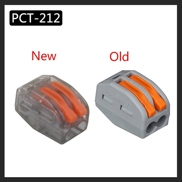 Fast Wire S | Yolo Wago Type Wire Connector 222 Series 20pcs Cage Spring Universal