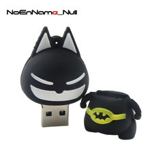 Memory stick asseclas Batman modelo USB flash drive 16 GB/32 4GB Pendrive GB/8 GB/ 64GB pen drive U disco de Armazenamento Externo(China)