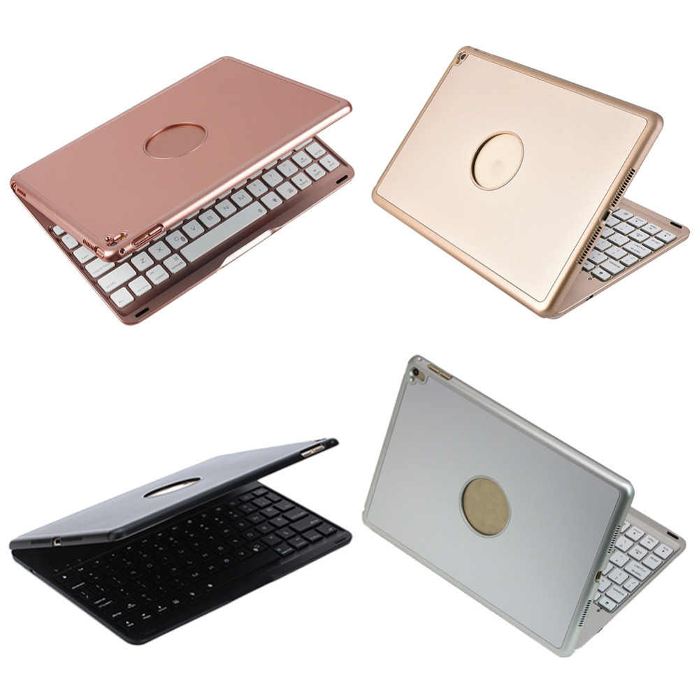 Fashion new Aluminum Alloy Bluetooth Keyboard with 7 Colors tablet laptop multifunctional keyboard Backlit for iPad Pro 9.7in
