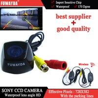 FUWAYDA Wireless SONY CCD Car Rear View Reverse Backup Parking Safety CAMERA for BMW X1/ BMW X3/ BMW X5/ BMW X6 waterproof hd