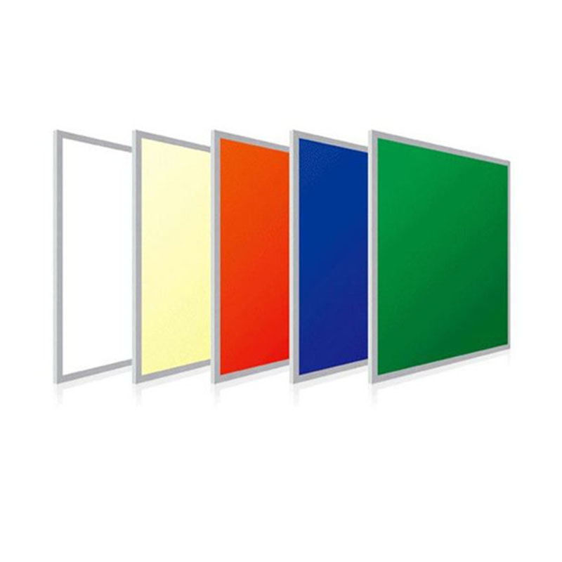 Ultra Thin LED Ceiling Panel Light RGB Color 600x600 Smart LED Panel Lamp Recessed Suspended 150pcs square led panel light 600x600 mm smd3014 40w 60x60 ceiling lights aluminum focus led