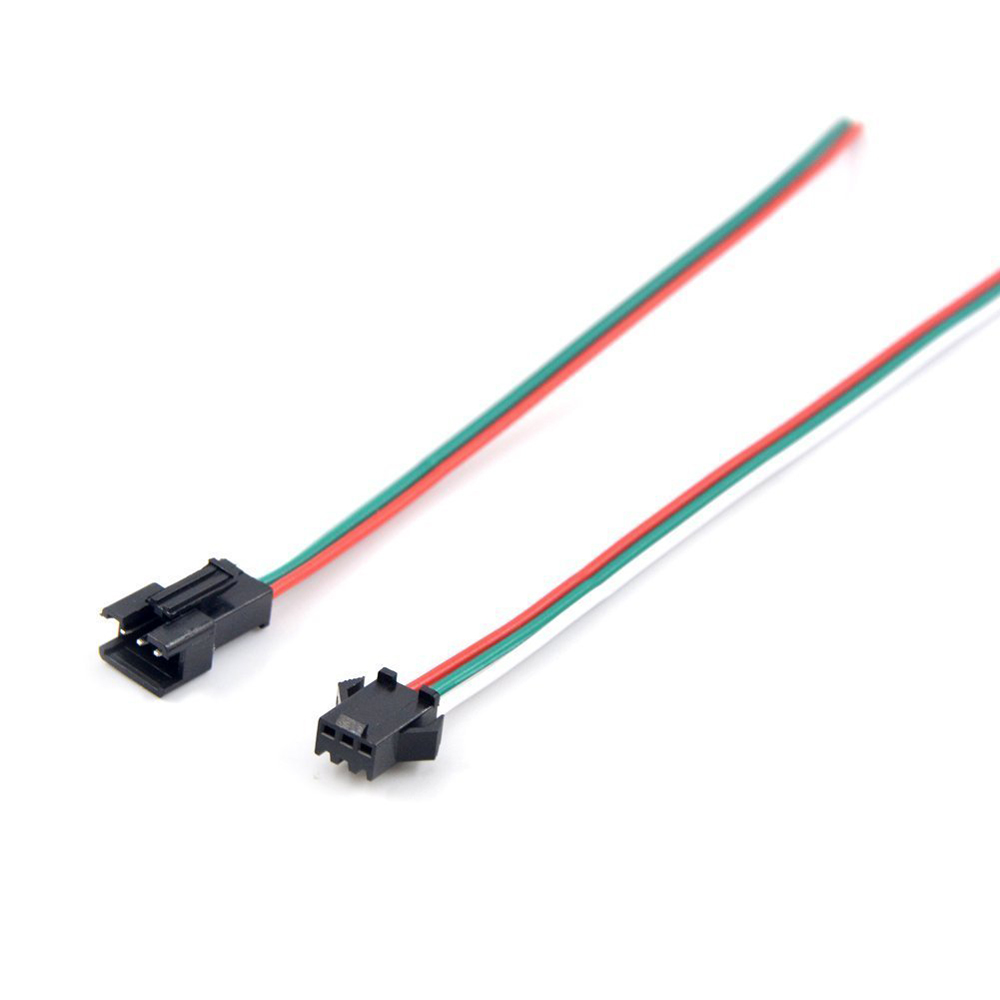 Led Strip Connector 2pin 3pin 4pin 5pin Ws2812b Ws2812 5050 Rgb Rgbw 3528 Light Strips Cable Wire Ws2801 Lpd8806 Sm Jst Male Female In Connectors From Lights