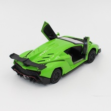 1 PCS the best quality supercar 1:36 alloy model back to the car, the toy car, blue mold toy cars, free shipping