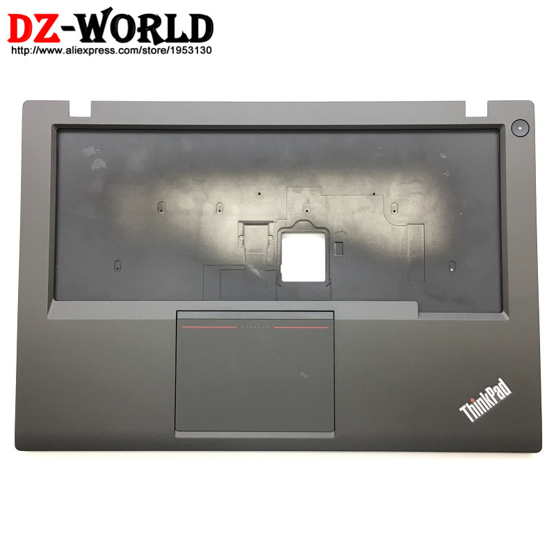 New Original for Lenovo ThinkPad T440S Keyboard Bezel Palmrest Cover UMA with Touchpad NFC and Connecting Cable 04X3882 gzeele new for lenovo thinkpad s1 yoga keyboard bezel palmrest cover with touchpad and connecting cable 00hm067 00hm068 black c