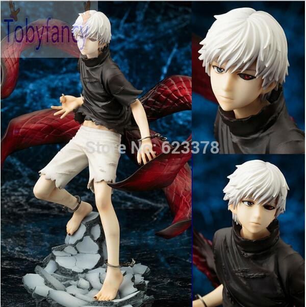 Tokyo Ghoul Figure Kaneki Ken Action Figures Model Toy Cartoon Figuras Anime Kid Toys Pvc Tokyo Ghoul Figure 220mm Tobyfancy anime tokyo ghoul mask cosplay figure kaneki ken action figure brinquedos party adjustable zipper prop juguetes hot kids toys