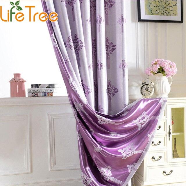 chinese knoop jacquard lange verduisterende gordijnen woonkamer slaapkamer raam gordijnen custom made 300 cm lengte