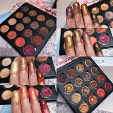 Makeup Eyeshadow Palette 16 Colors Shimmer Matte Glitter Pallete Smoky Nude Pigment Cosmetic
