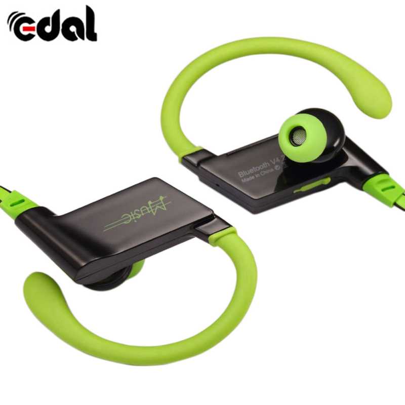 EDAL S808 In-Ear Bluetooth Wireless Earbuds Sports Earphones Noise Cancelling Stereo Bass Sweatproof with Mic for Phones