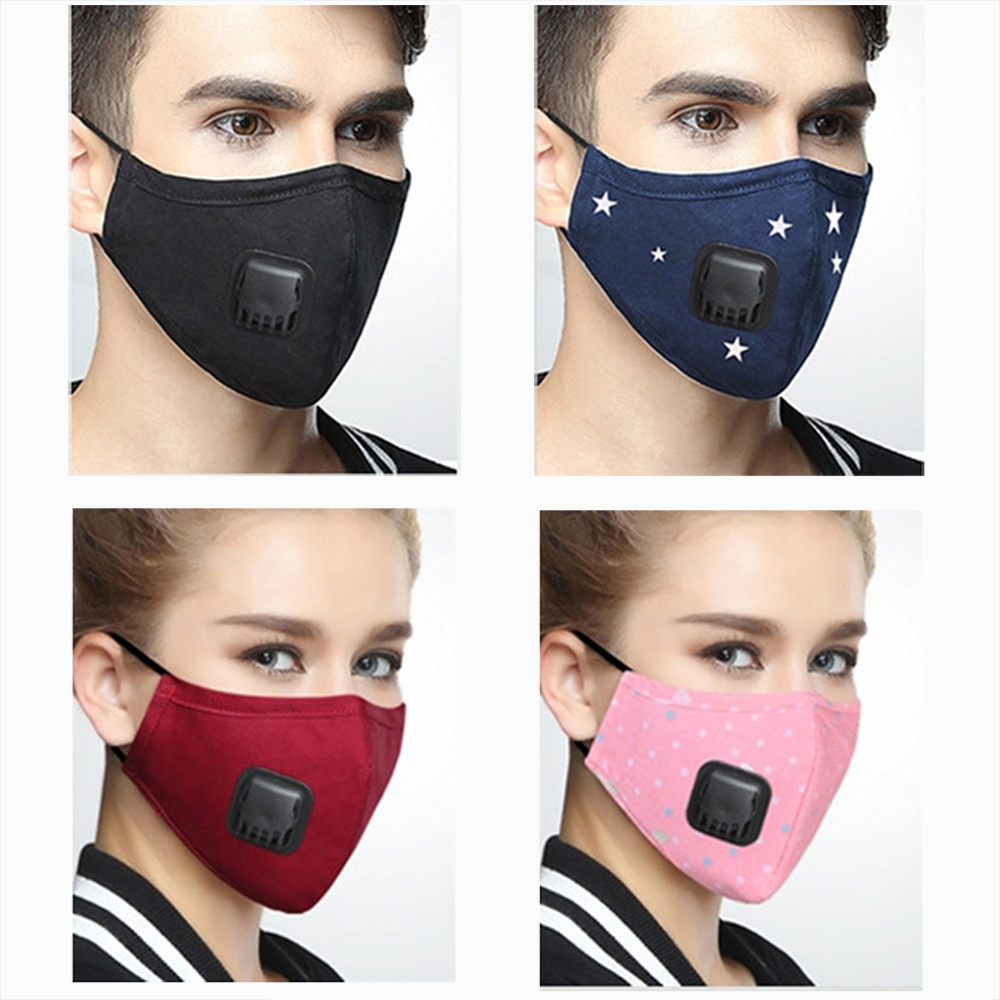 Korean Anti PM2.5 Mask For Face Anti Dust Mouth Mask Respirator Mask With Carbon Filter Respirator Black Mask for Winter RunningKorean Anti PM2.5 Mask For Face Anti Dust Mouth Mask Respirator Mask With Carbon Filter Respirator Black Mask for Winter Running