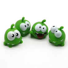 1pcs Mung Bean Frog Cut Rope Doll Mini Crafts Home Desk Decoration Cartoon Doll Pinch Toy ледянка 1 toy cut the rope