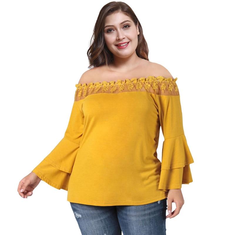 shirt women summer sold fashion casual tops slim tight plus size XL-4XL