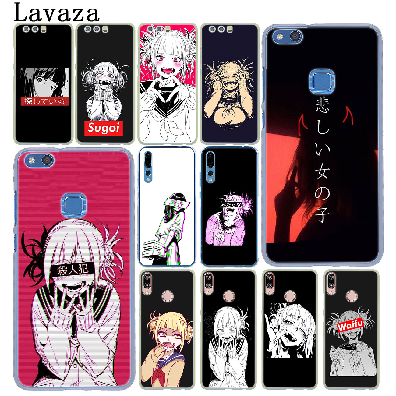 Lavaza Anime Himiko Toga Boku No Hero Academia <font><b>Case</b></font> for Huawei Y9 Y7 Y6 Prime 2019 <font><b>Honor</b></font> 20 8C 8X 8 <font><b>9</b></font> 9X 10 <font><b>Lite</b></font> 7C 7X 6A 7A Pro image