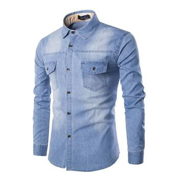 2018 Hot Sales Jeans Shirts For Men New Arrival Causal