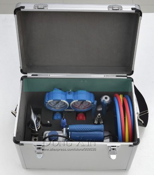 VALUE 7in1 VTB-5A Refrigeration Repair Tool Set With Aluminum alloy box  цены