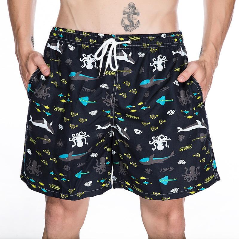 Summer Men's Swim   Shorts   Quick Dry   Board   Surfing Beach   Shorts   Swimwear Trunks Male Beach Wear Maillot De Bain Bermuda Surf   Short