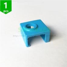 MK8 silikon çorap ısıtıcı blok kapak silikon yalıtım Replicator için Anet A6 A8 Prusa MK7/MK8/MK9 Tronxy creality 3D yazıcı