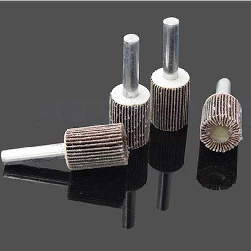 10 pcs roue à lamelles pour diamètre de tête de polissage des - Outils abrasifs - Photo 2