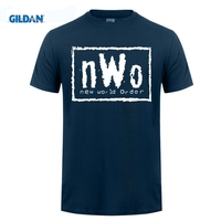GILDAN NWo - Black T-Shirt New World Order N.W.o Hulk Razor Nash WCW Different Colours High Quality T Shirt