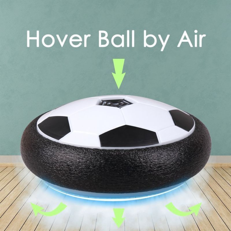 Air Power Football Hover Ball Anti Stress Kid Flash Lighting Up Indoor Soccer Disk Toys Electric Led Play Sport Game For And Boy