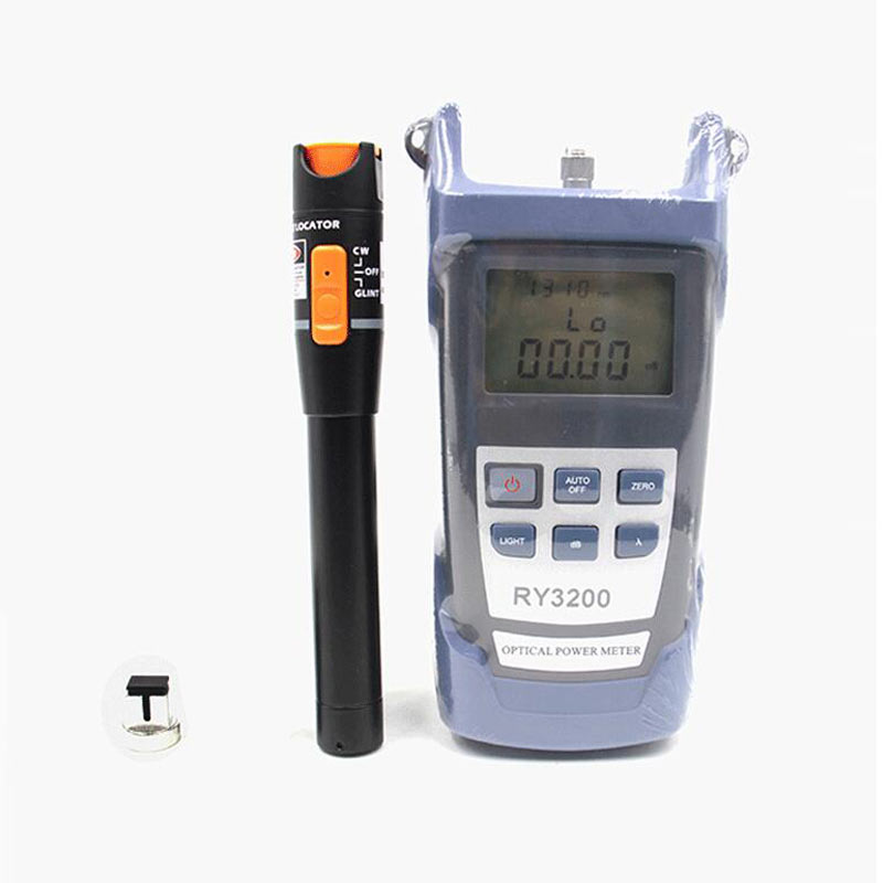 Free Shipping Ruiyan RY3200 Optical Power Meter and Fiber Optic Cable Tester Pen VFL 10mw Visual Fault LocatorFree Shipping Ruiyan RY3200 Optical Power Meter and Fiber Optic Cable Tester Pen VFL 10mw Visual Fault Locator