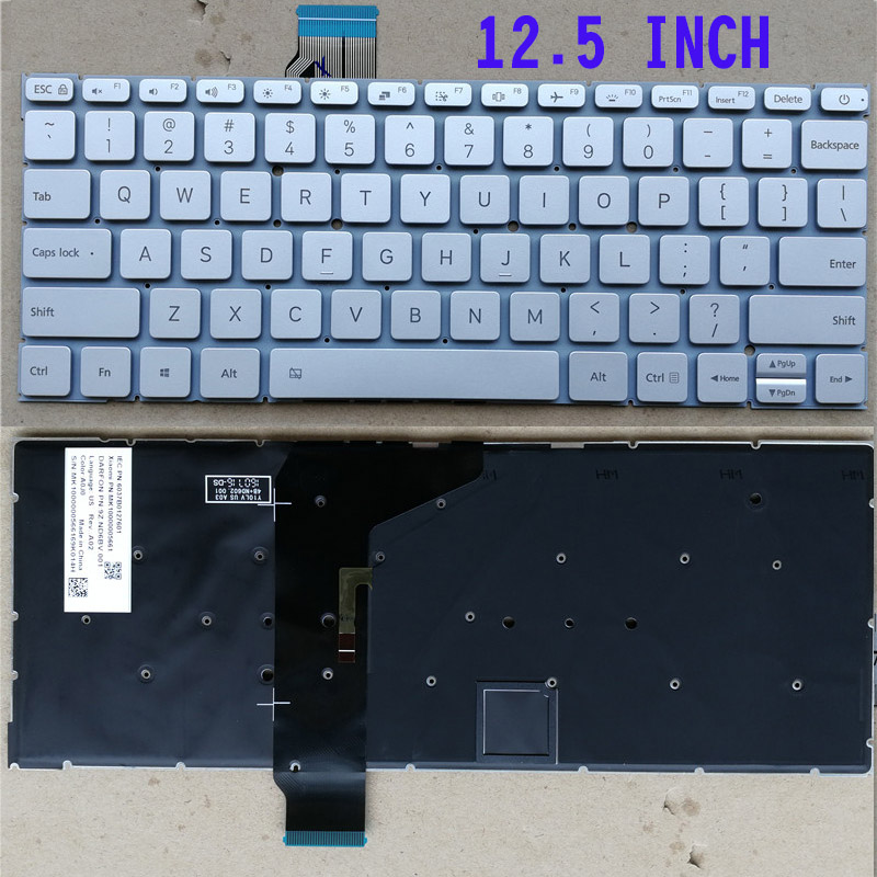 New Laptop keyboard for Xiaomi mi Air 12.5 12.5inch 13.3 13.3inch Pro 15.6 15.6inch US layout