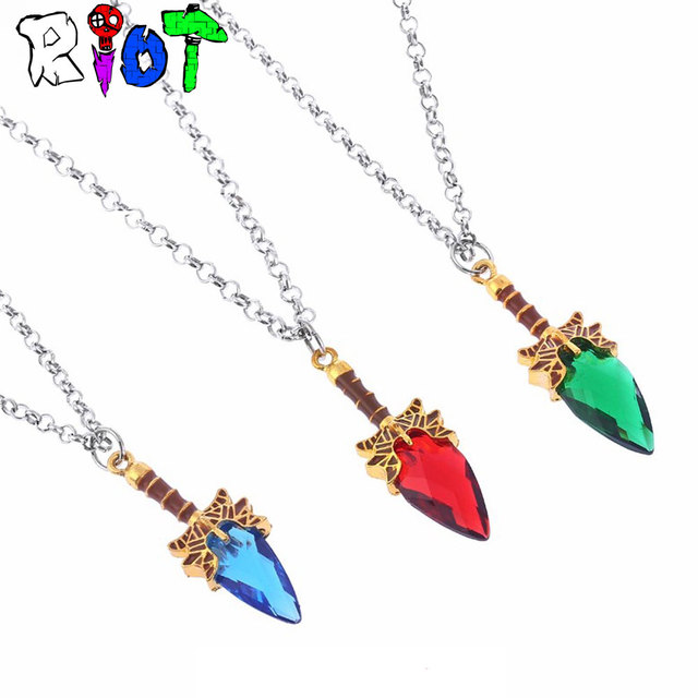 3 Colors Game DOTA 2 Necklace Weapon model Pendant Aghanim's Scepter  Jewelry Defense Of The Ancients