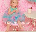 Baby Petti tutu girls tutu skirt girls dance skirt party wear mix 4 colors in one skirt