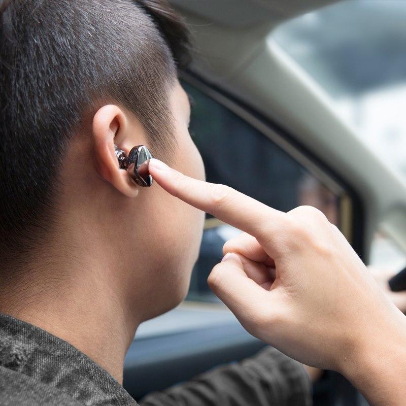 Baseus Encok Único fone de Ouvido Fone De Ouvido De Metal Baixo Pesado Música de Qualidade de Som do Fone de ouvido mini fone de ouvido bluetooth fone de ouvido sem fio