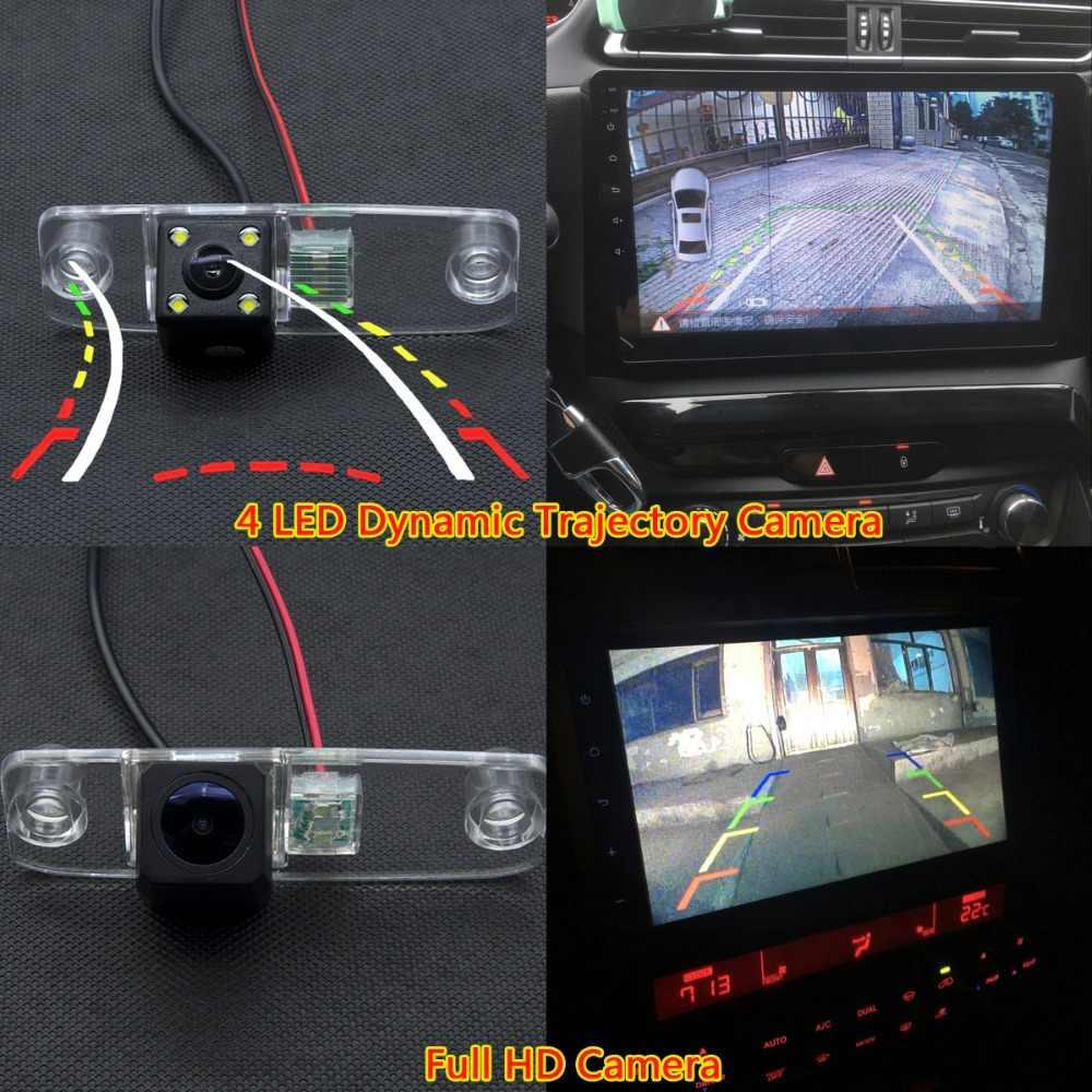 רכב LED גיבוי צג חנייה אלחוטי מצלמה אחורית ליונדאי אקסנט Elantra Terracan Veracruz סונטה טוסון ורנה סונטה