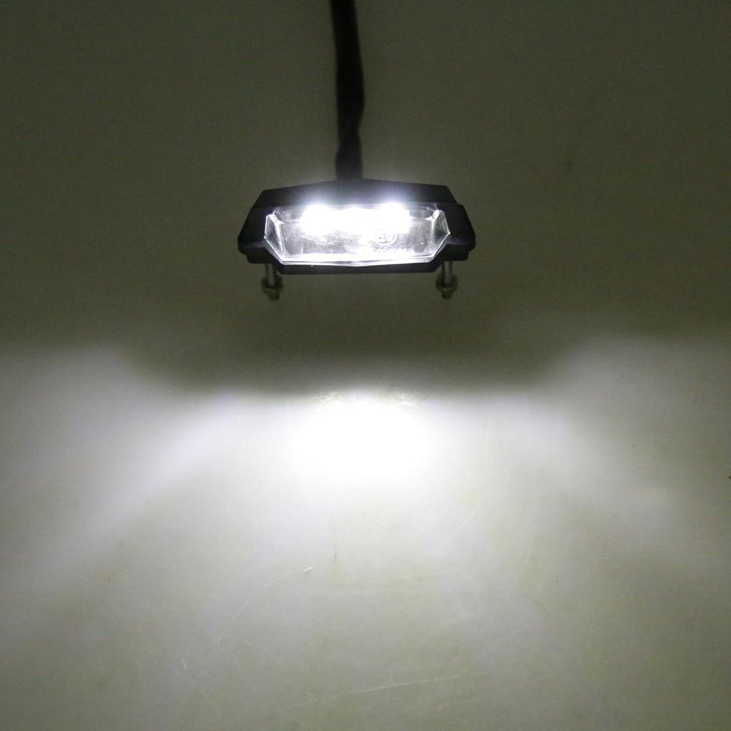 3 LED Rear Lisence Number Plate Light Lamp Trailer Car Light 12VDC