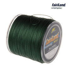 Braided fishing line 500m 0.4# 0.6# 0.8# 1#-8# Super strong Japan Multifilament PE fish line 10-70LB FAIRILAND original