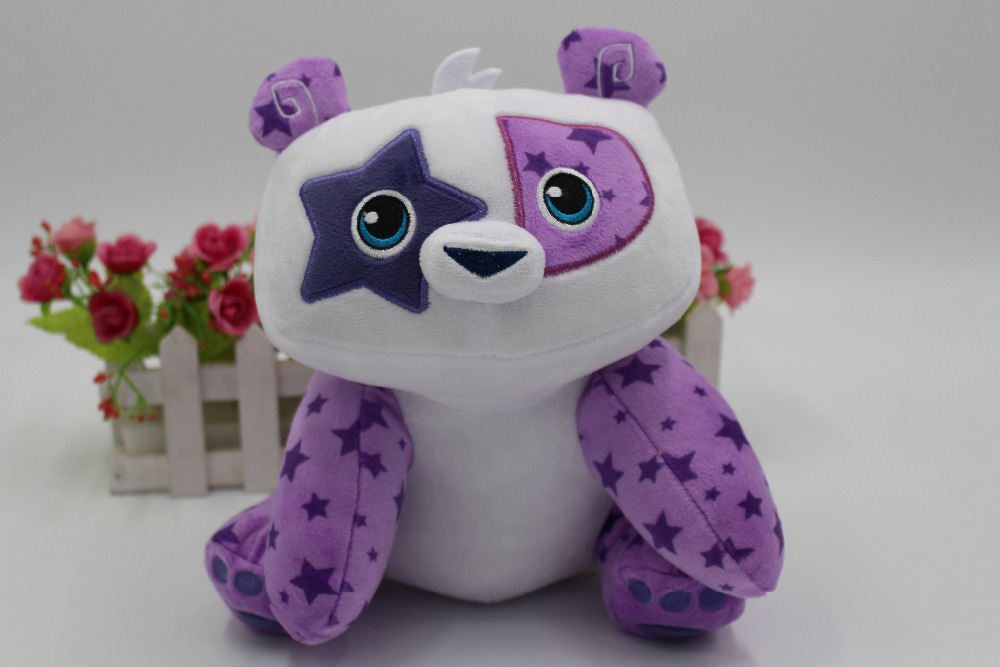 New Animal Jam Deluxe 9 Plush Posh Panda Doll Toy