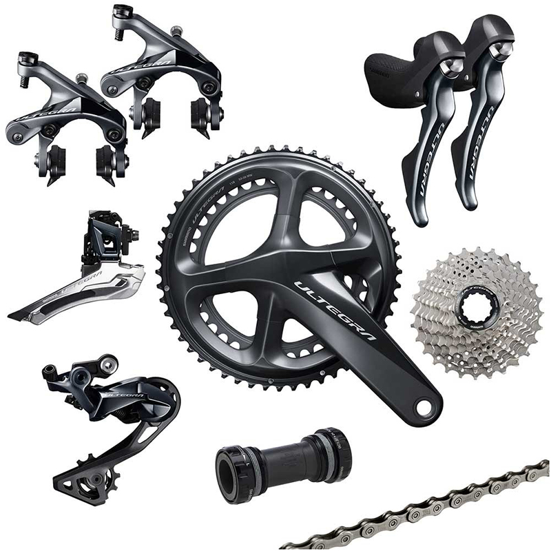 Shimano Ultegra R8000 11 Speed Groupset Road Bike Groupset 170 172 5 175mm 50 34 52