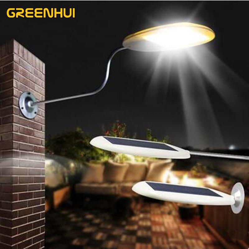 New arrival ray control 18LED 4000MA Solar Powered Panel LED Street Light Solar Sensor Lighting Outdoor Path Wall Emergency Lamp цена