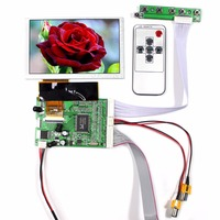 5inch Tft Lcd High Resolution 800 480 Resolution HSD050IDW1 VGA 2AV Reversing Driver Board Automatically Switch