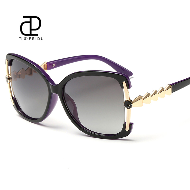 1b8fffebe1be FEIDU High Quality Butterfly Sunglasses Women Brand Designer Multicolor  Coating Driving Sun Glasses UV400 Oculos De