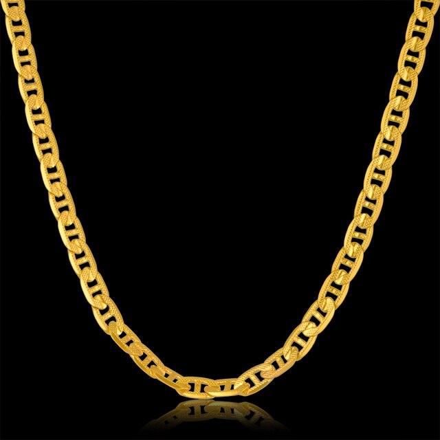 Marcas de collares de oro
