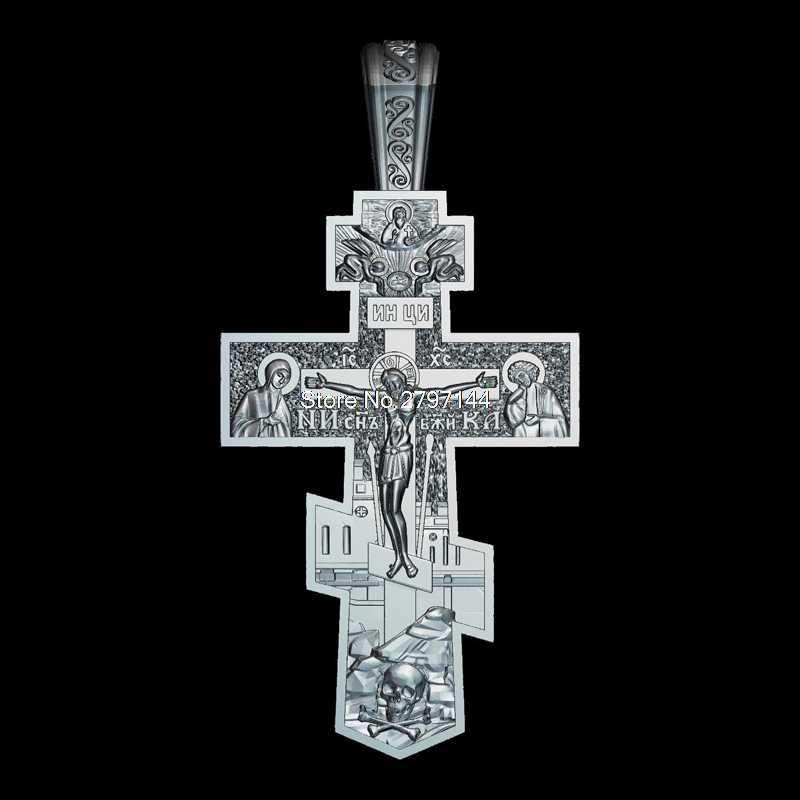 Crucifijo 3D, figura en relieve de modelo STL, religión 3d, relieve de modelo para cnc en formato de archivo STL