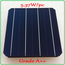 solar cell panel 21.6% high-efficiency A grade 156mm 4BB monocrystalline solar cell 5.37W/pc enough-power Mono Solar Cell