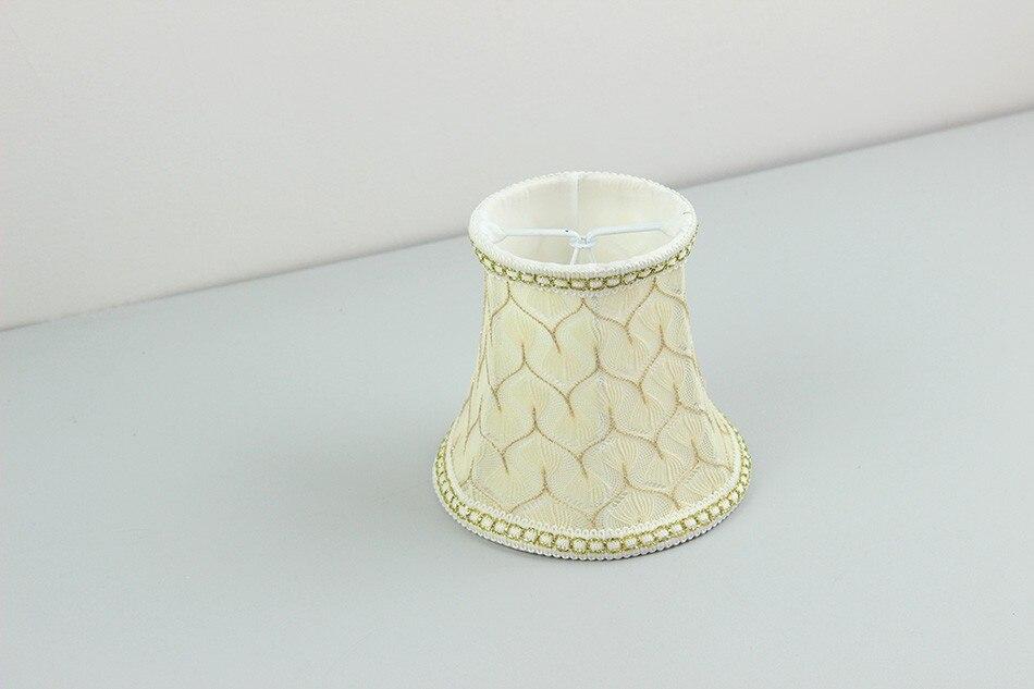 Mini Lampenschirme Für Kronleuchter ~ Glas kronleuchter licht lampen mit stoff lampe shades