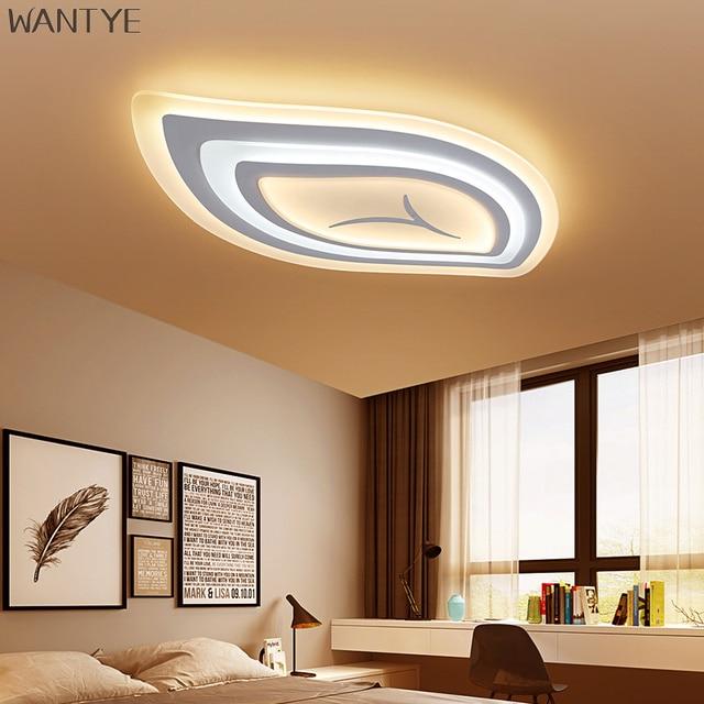 Neue Moderne Deckenleuchte LED luminaria Kreative blatt ...