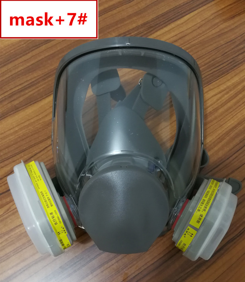 Sjl Full Facepiece Respirator Painting Spraying Mask For 6800 Gas Mask Festive & Party Supplies Event & Party
