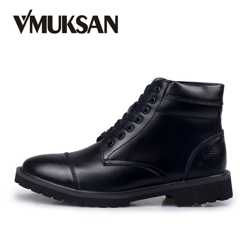 Detail Feedback Questions about VMUKSAN Men s Boots Italian Dress Boot Size  40 45 Faux Leather Mens Dress Shoes Rubber Boots For Men Black Oxfords on  ... 0552d895ca3f
